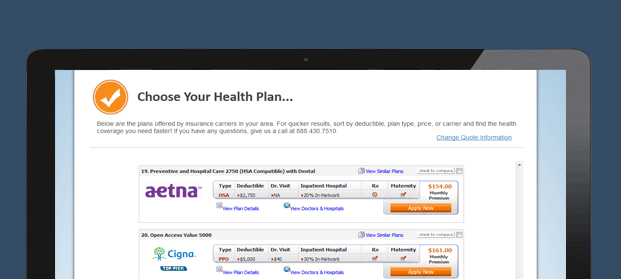 Browse Affordable Health Insurance Plans